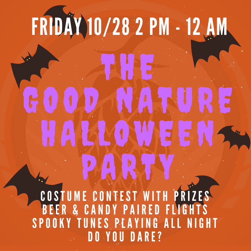 Good Nature Brewing | Halloween Party