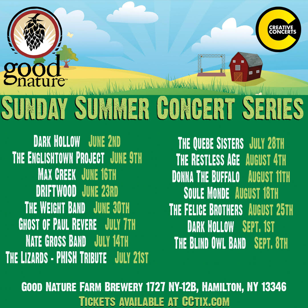 Good Nature Brewing | Summer Concert Series @ the Good