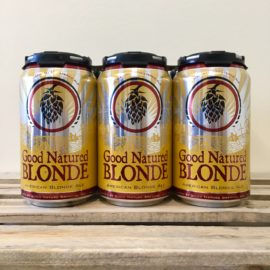 Blonde 6 pack cans